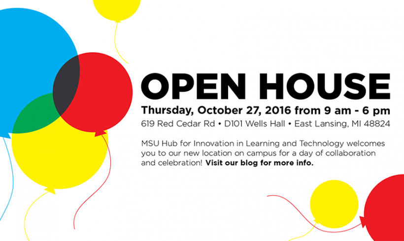 OPEN HOUSE! Join Us in Our New Location on Thursday, October 27, 2016!
