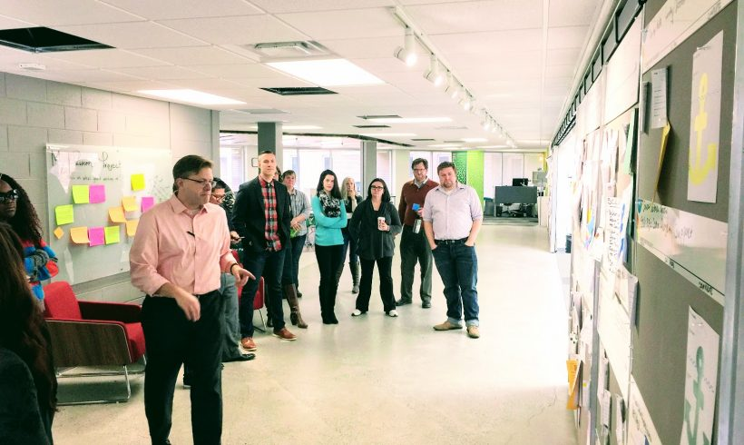 Scrum: A Look Inside the Hub's Weekly Stand-up Meeting