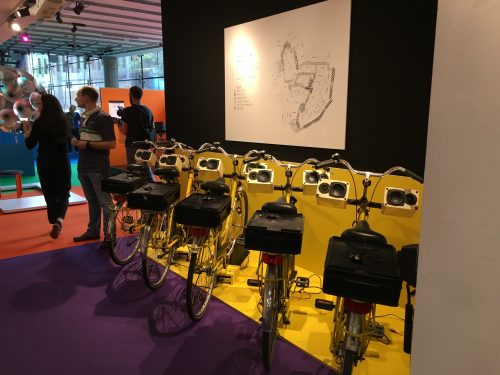 Image of the bicycles that compose SG Dublin's Ya Slip Ta Bang