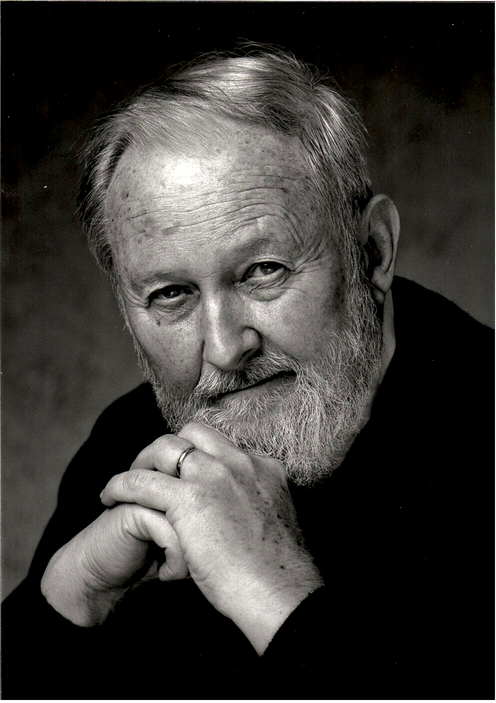 portrait of John Duley, 1980s.
