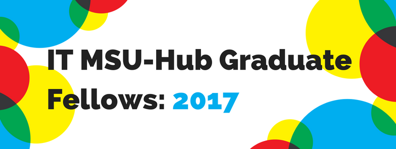 ITMSU-Hub Graduate Fellows: 2017